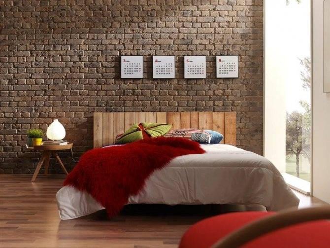 Имитация кирпичной стены своими руками - wallpanels.ru