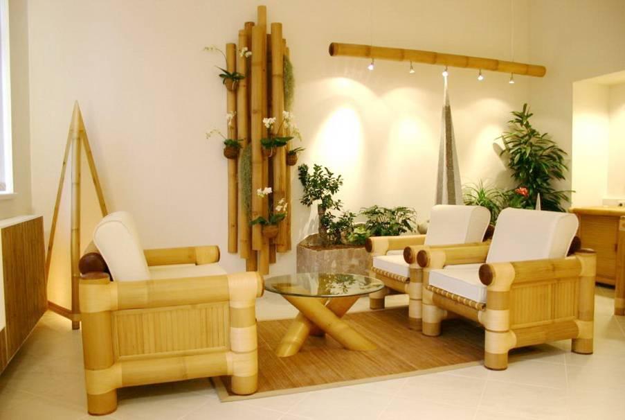 Как использовать бамбук в интерьере?
