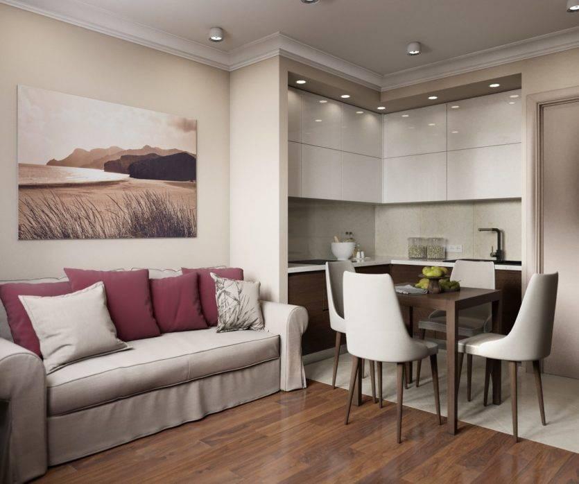 Кухня гостиная 18 кв м: дизайн с зонированием, идеи для студии (20 реальных фото)
