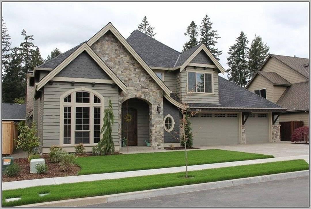 Отделка фасада дома – 115 фото современного дизайна оформления и подбор материалов