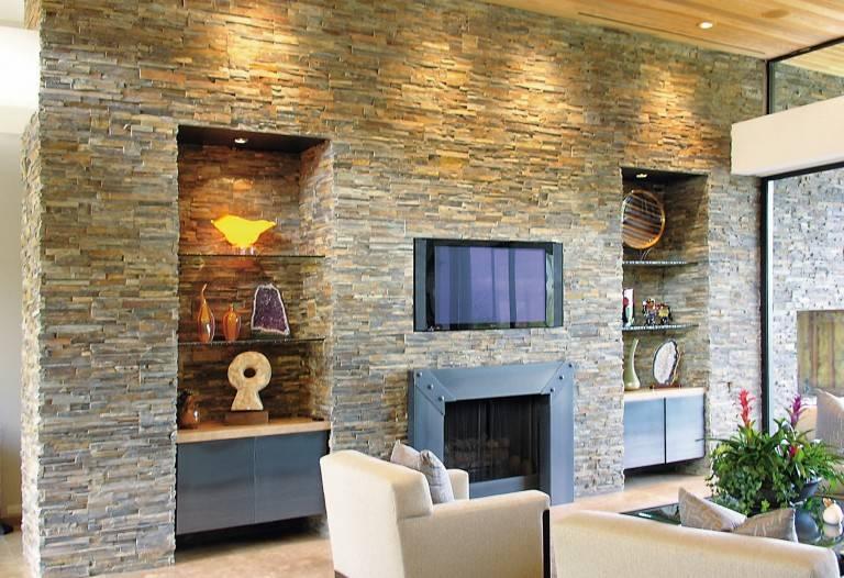 Декоративная плитка под камень +60 фото примеров