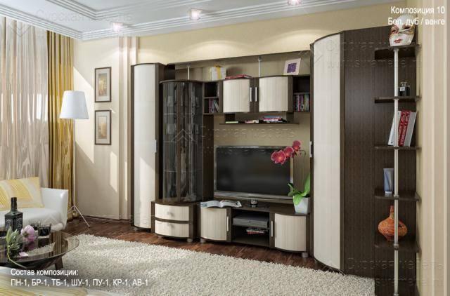 Стенка в гостиную со шкафом для одежды и белья: 105 фото новинок из каталога 2021 года