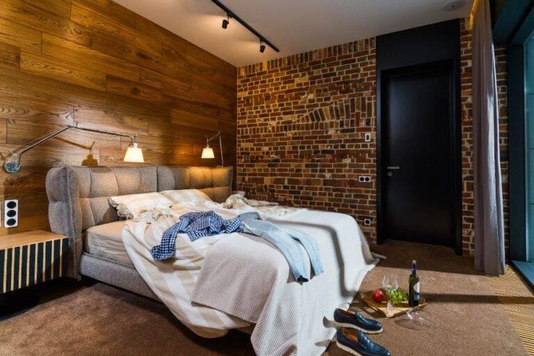 Спальня-гостиная: оригинальные проекты интерьера совмещенной комнаты с примерами идеального зонирования (150 фото)