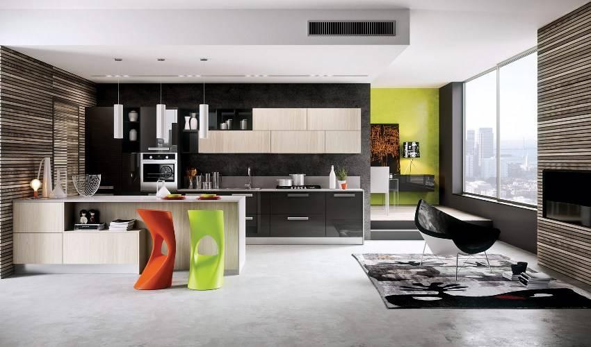 Кухня-гостиная в 2020 году: подборка дизайнов, современные идеи