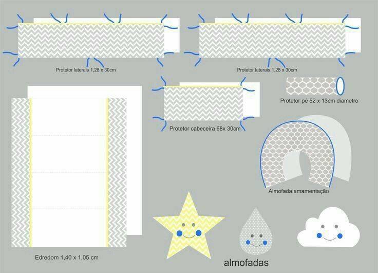 ???? бортики в кроватку для новорождённых своими руками: инструкции по пошиву