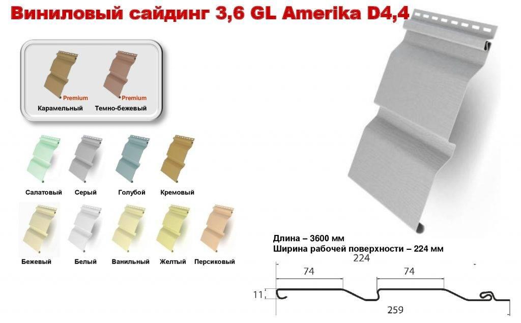 Размеры сайдинга: ширина и длина панели, толщина сайдинга для наружных работ и обшивки дома, какие бывают размеры