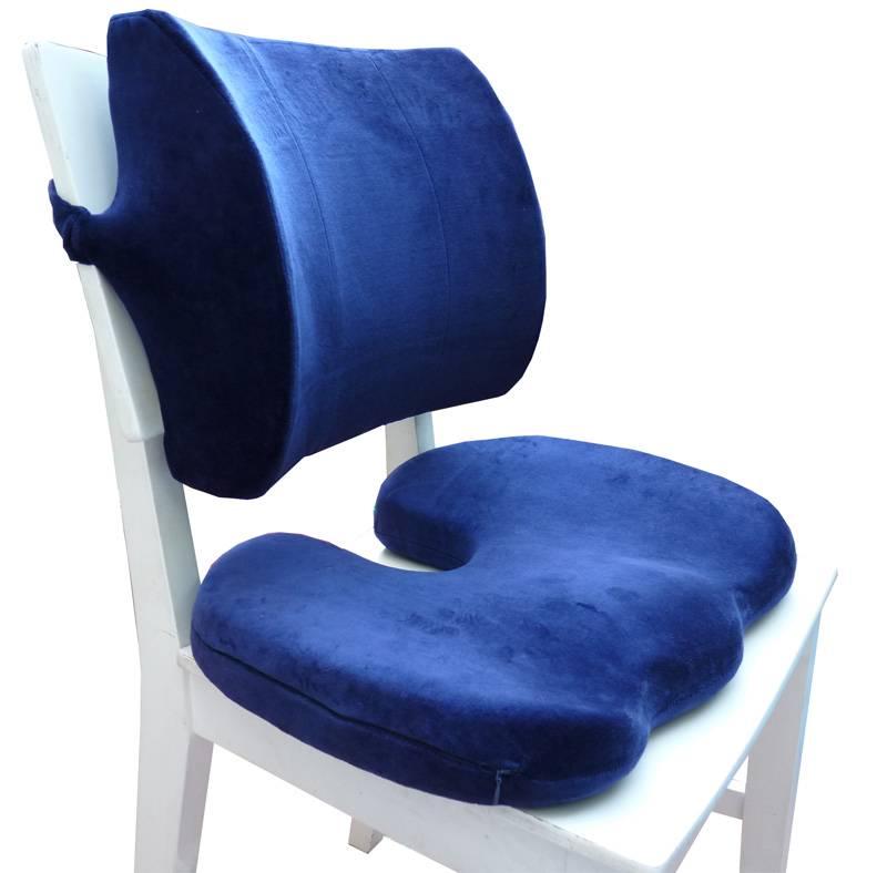 Ортопедические подушки для сидения на стуле