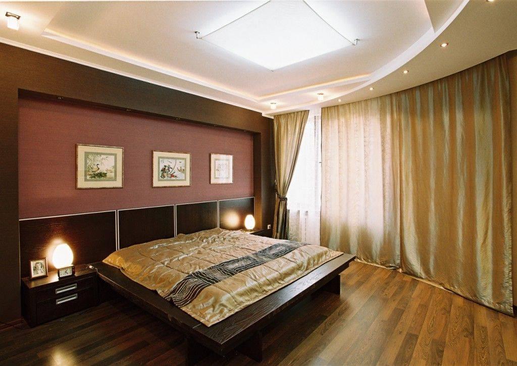 Потолок с подсветкой в спальне: новинки дизайна и фото варианты освещения с натяжным потолком