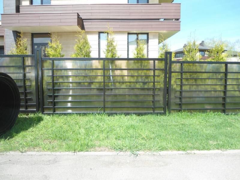 100+ идей !!!   красивый забор для частного дома (фото)