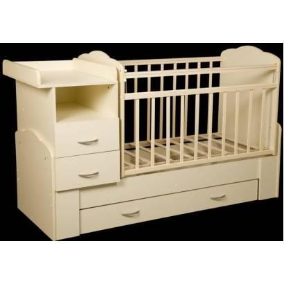 Детская кровать-трансформер (90 фото): кроватка-трансформер для детей в малогабаритной квартире
