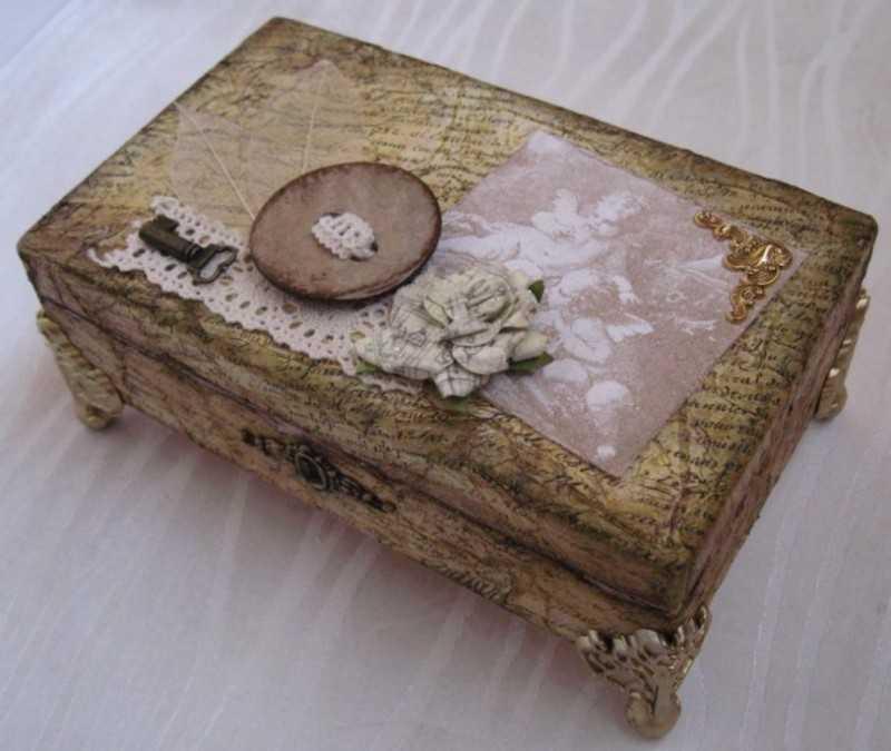 Шкатулка своими руками — 160 фото идей как делать шкатулки. пошаговое описание изготовления