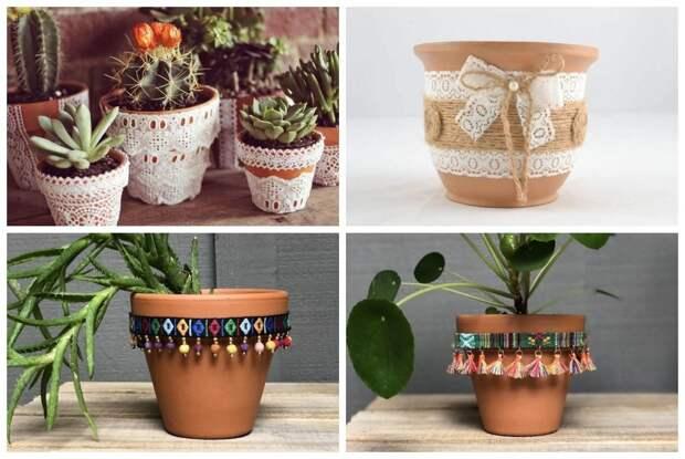 Красивые кашпо для цветов своими руками — идеи, фото, пошаговый мастер-класс - огород, сад, балкон - медиаплатформа миртесен