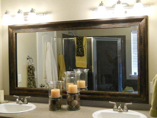 Как выбрать зеркало с подсветкой в ванную комнату