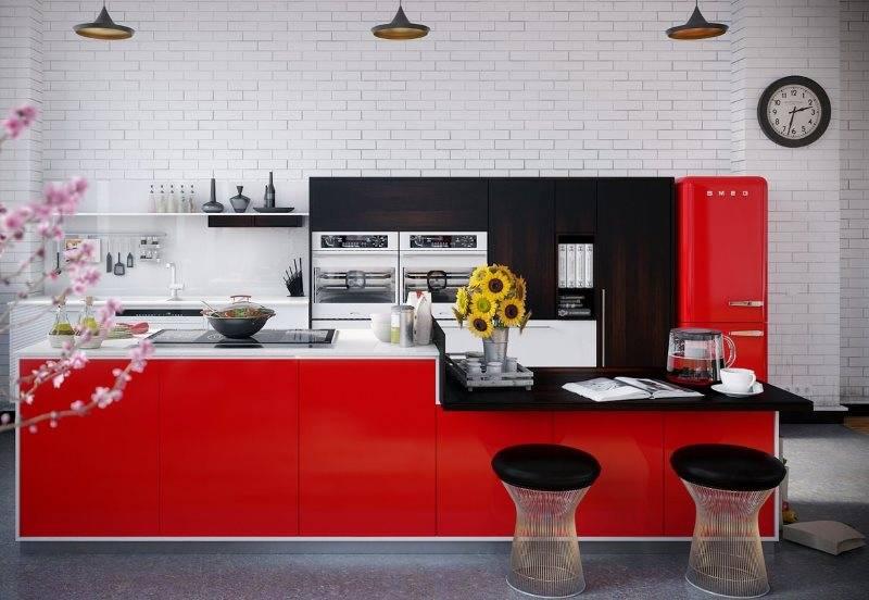 Зеленая кухня: сочетания цветов, варианты стильных комбинаций и примеры использования кухни в зеленом цвете (85 фото и видео)