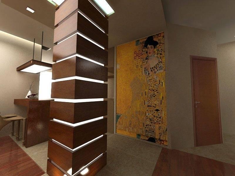 (+60 фото) колонны в интерьере функционал и стили