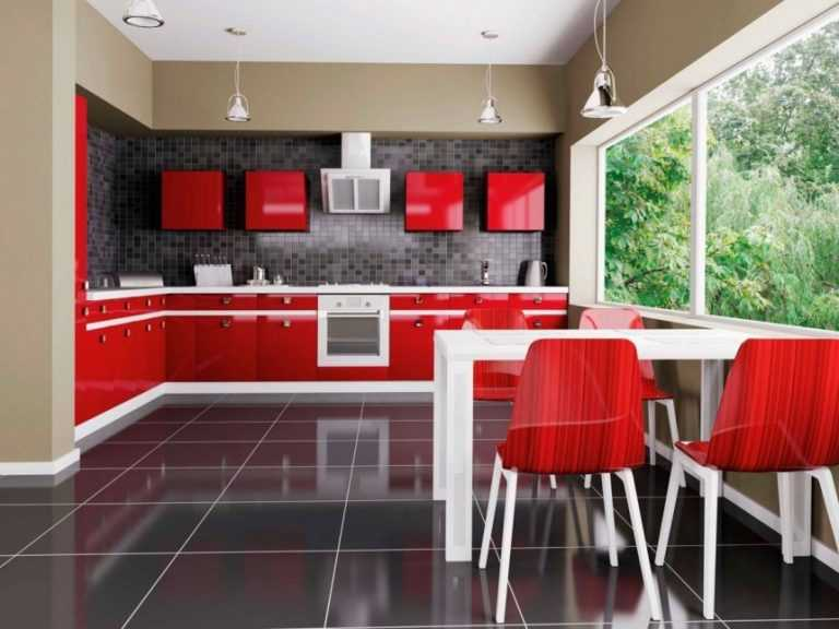 Дизайн кухни в голубых тонах: небесно-морской дизайн с нотками романтики (+91 фото)