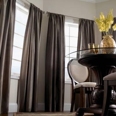 Как правильно подобрать шторы к обоям: фото дизайнерских решений и секреты текстильного декорирования