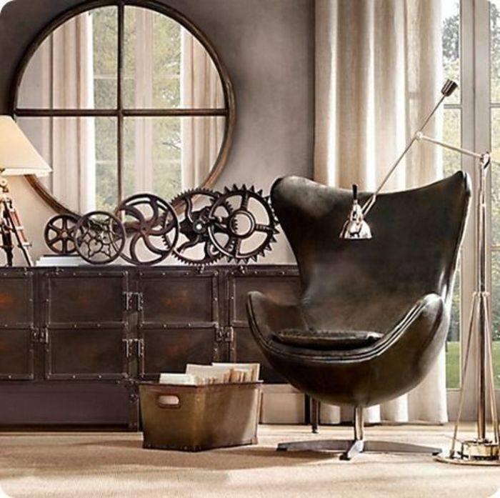 Стимпанк в интерьере: 75 идей современного дизайна