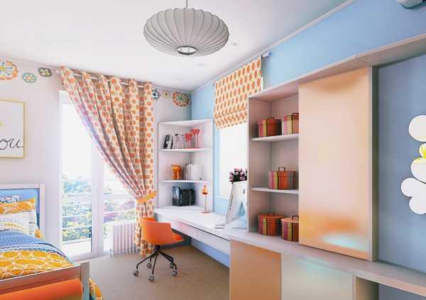 Дизайн комнаты для девочки 4-11 лет в современном стиле: как обустроить интерьер красиво  - 33 фото