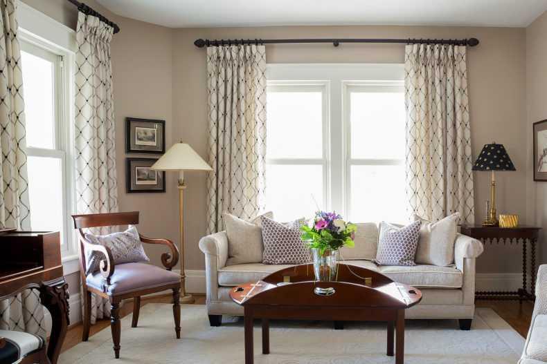 Тюль на окна — легкая инструкция, как подобрать к шторам и сочетать в интерьере (95 фото дизайна)