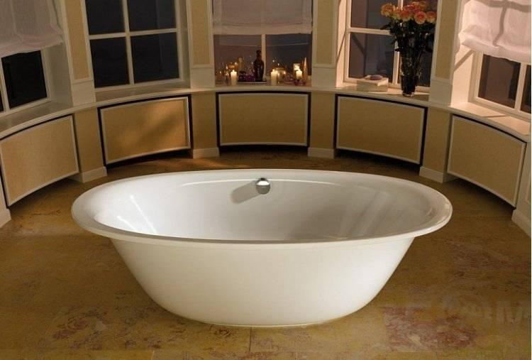 Виды ванн: разновидности по материалу изготовления и форме чаши, советы по выбору