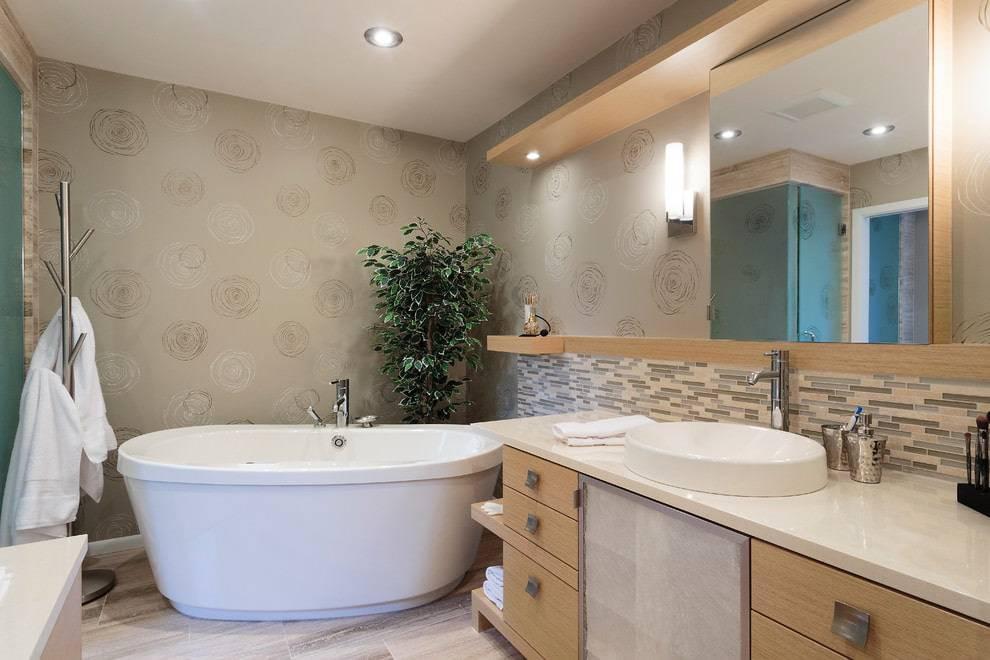 Потолок в ванной комнате: отделка, выбор материала и идеи дизайна (45 фото)