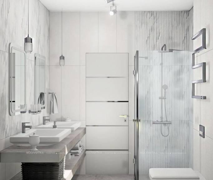 Белая ванная комната: интересные идеи оформления и дизайнерские фото примеры