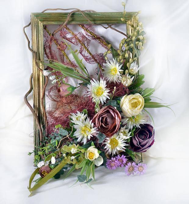 Картина панно рисунок поделка изделие флористика аппликация моделирование конструирование мои панно из сухоцветов материал природный