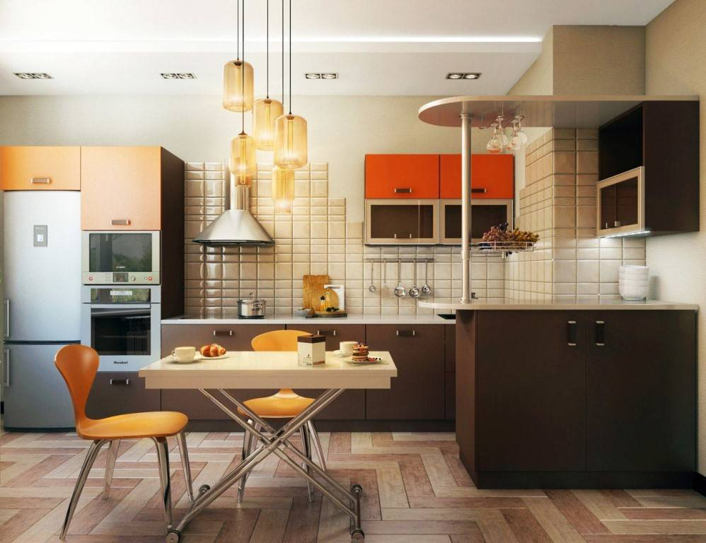 Кухня 6 кв. м. – как сделать лучший дизайн и интерьер на маленькой площади (130 фото)