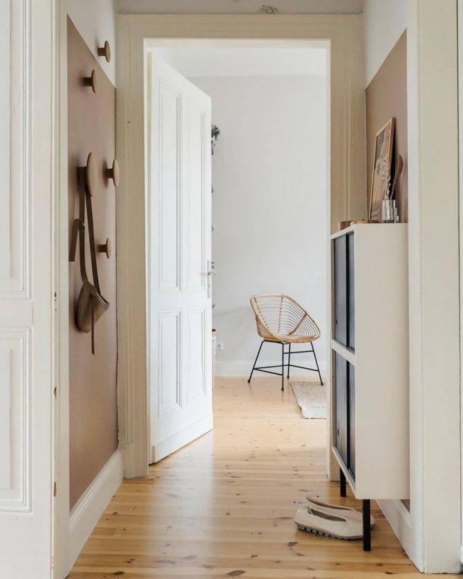 Обои для маленькой прихожей и в узкий коридор хрущевки: как выбрать (25 фото)