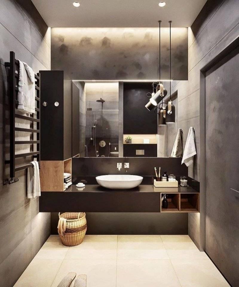 Современная ванная комната — 7 идей в соответствии с трендами 2021 года!