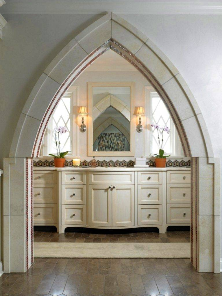 Варианты дизайна арки на кухню вместо двери