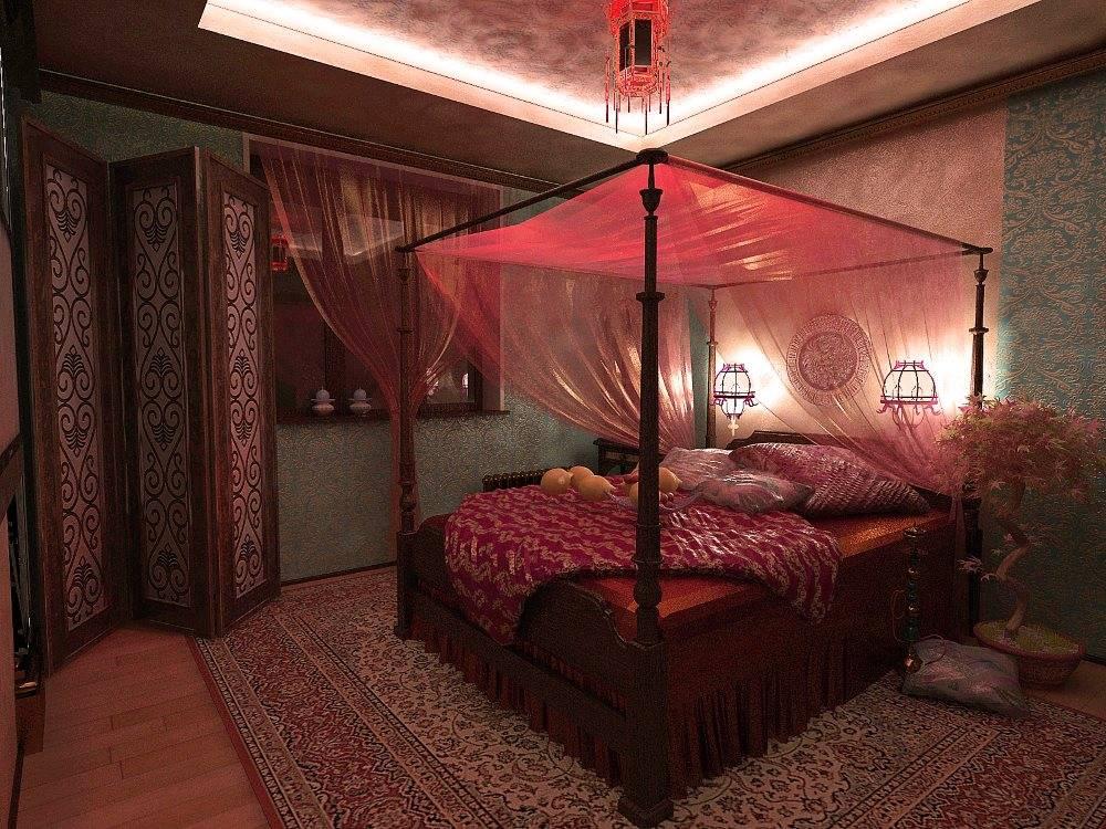 Дизайн интерьера: арабский стиль (55 фото)