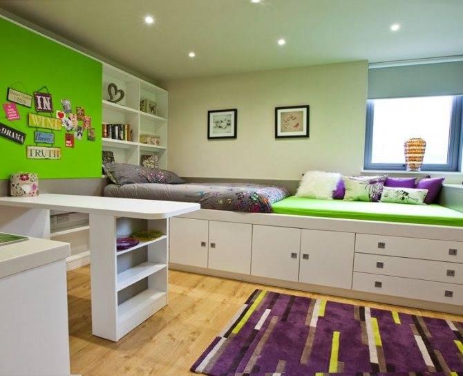 Кровать-подиум (78 фото): выдвижная и встроенная кровать в подиум в интерьере маленькой спальне, отзывы о подиумных моделях в нише