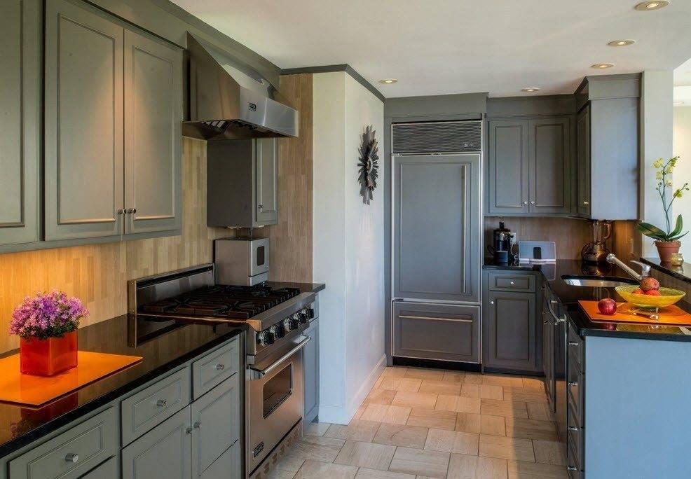 Дизайн кухни 9 кв метров: лучшие фото примеры