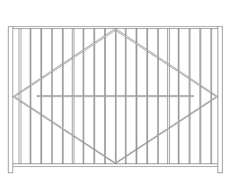 Забор из профильной трубы: как сварить из профилированной профтрубы секционный забор, сварные ограждения