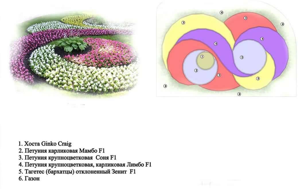 Клумбы своими руками: топ-200 фото идей и новинок. схема посадки цветов на клумбе + инструкция с примерами
