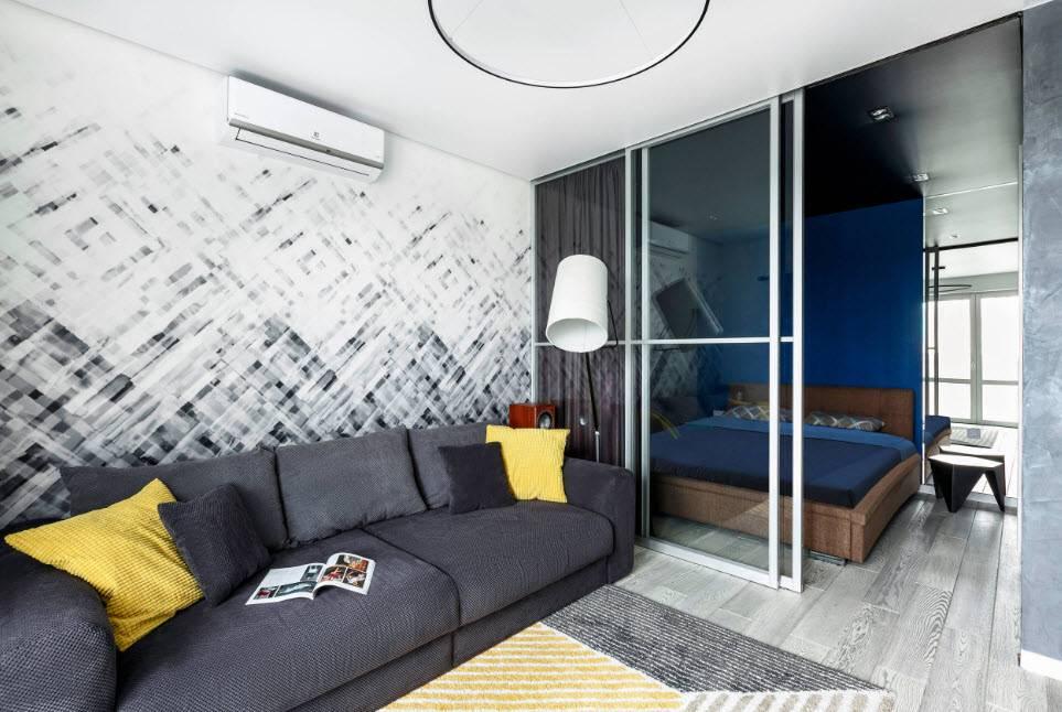 Дизайн интерьера комнаты 18 кв. м. - 120 фото актуальных идей оформления и украшения интерьера