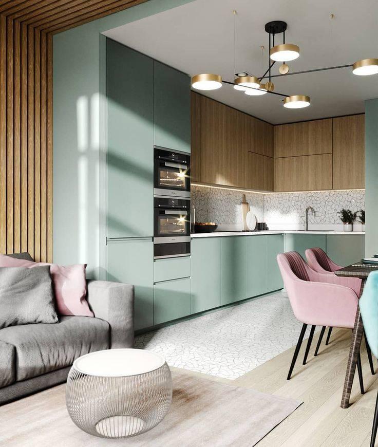 30 примеров кухни-гостиной на 20 кв. метрах