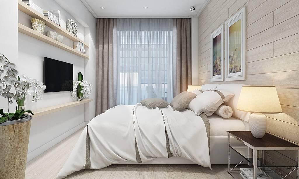 Дизайн спальни 15 кв м: тонкости оформления
