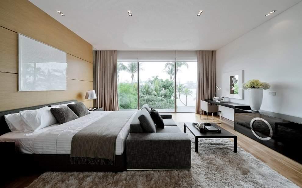 Интерьер спальни в современном стиле (200 фото) - лучшие идеи дизайна в спальне