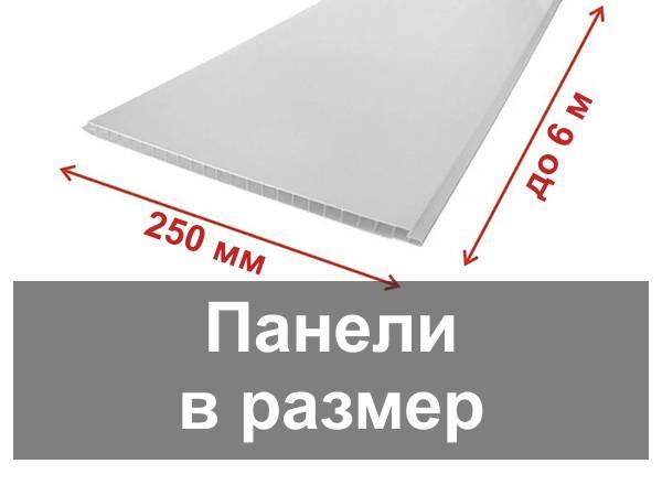 Панели пластиковые для внутренней отделки стен и потолка