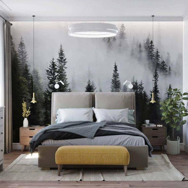 Обои для маленькой спальни (47 фото): какие выбрать обои