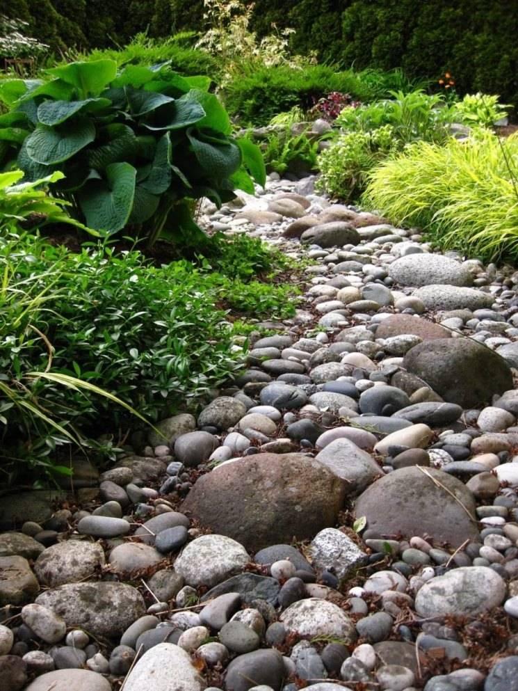Сухой ручей: как правильно построить красивый элемент ландшафтного дизайна (135 фото)