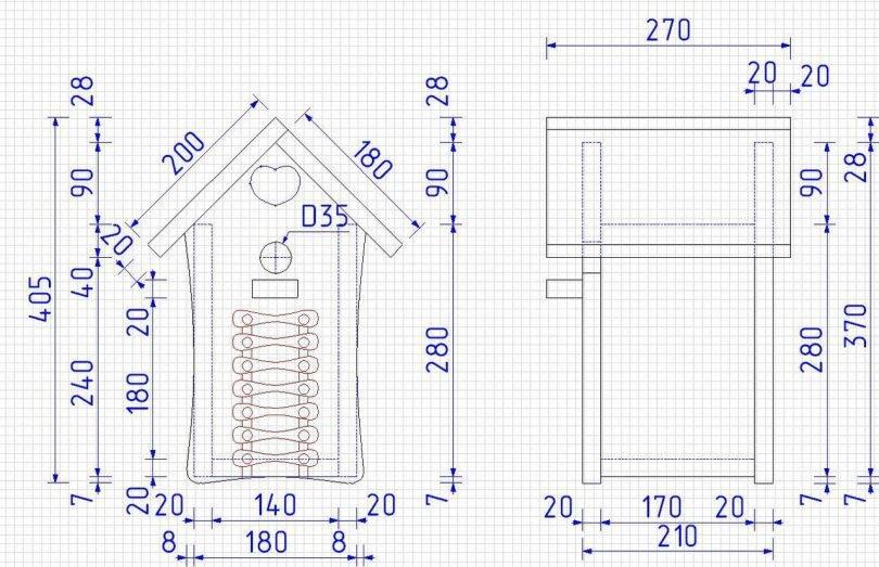 Дачный туалет своими руками – работы по постройке и инструкция по установке (130 фото-идей)