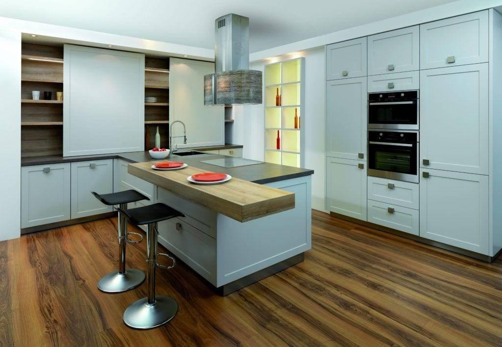 Модные кухни 2021-2022: как современно обставить и обустроить кухонный интерьер? (55 фото)