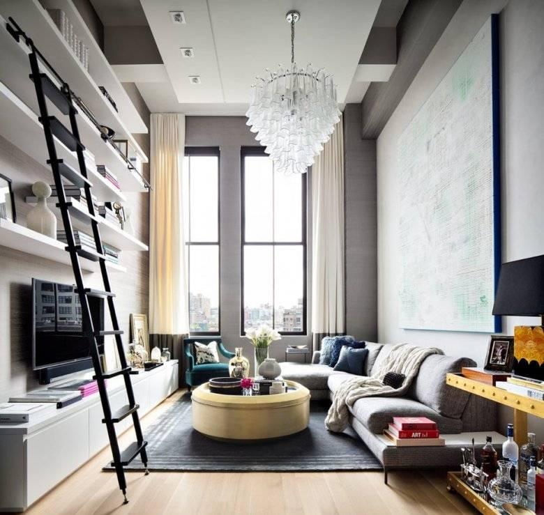 Дизайн потолка в гостиной: виды, цвета и другие идеи на 2021 год   дизайн и интерьер