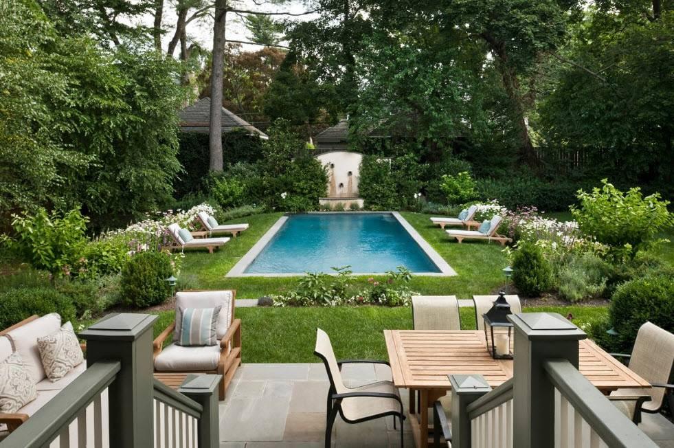 Частные дворы: 100 лучших фото идей обустройства и дизайна