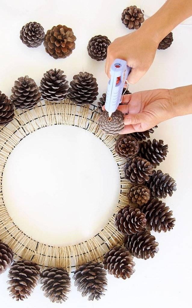 Поделки из шишек: 85 фото самых простых и интересных идей использования шишек