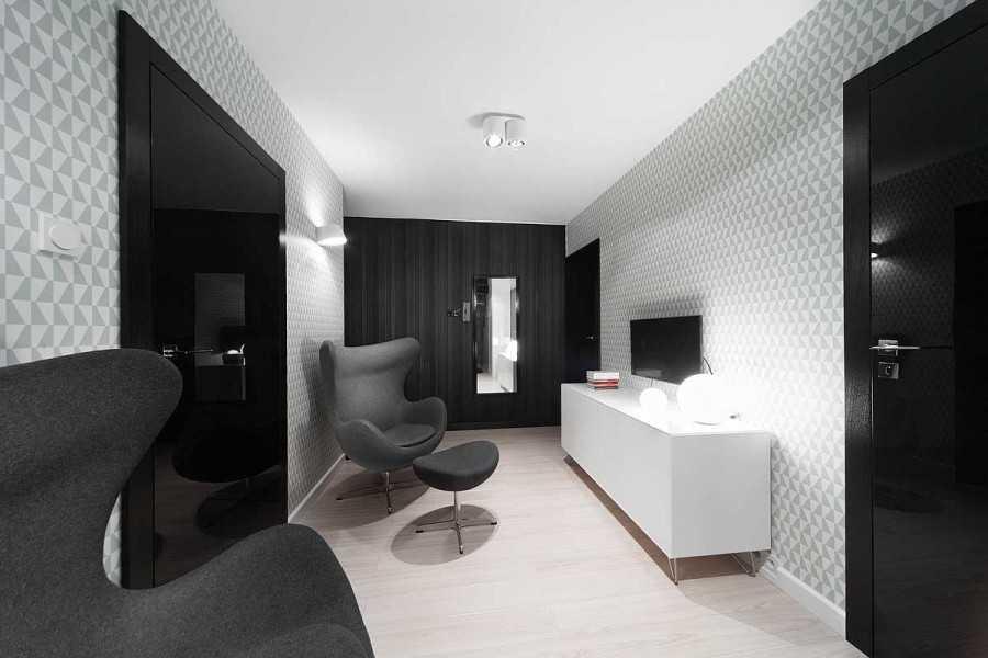 Черный потолок в интерьере +75 идей на фото